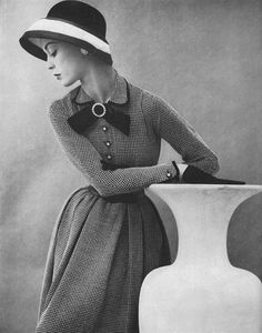 1953 beautiful vintage fashion