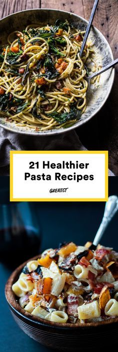 Grab a fork and dig in. #pasta #recipes http://greatist.com/eat/pasta-recipes-perfect-for-cold-weather