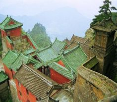 Wudang Mountains, Shiyan, Hubei, China