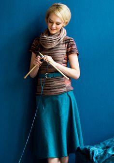 Elokuun 2013 Suuri Käsityö - Uusin lehti - Suuri Käsityö: paljon kivoja töitä kouluun Knits, Style, Fashion, Swag, Moda, Fashion Styles, Knit Stitches, Tuto Tricot, Fashion Illustrations