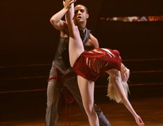 Kayla & Marc - the addiction routine was amazing.  Mia Michaels is AMAZING.