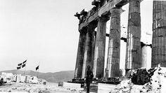 Pierre Kosmidis Πιερ Κοσμίδης: Η σβάστικα στην Ακρόπολη: Φωτογραφίες-ντοκουμέντα αποκαλύπτουν την αλήθεια πίσω από τους μύθους
