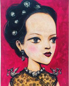 "@jukkoowong18  -  ""งามสมบรมราชินีนาถ"" #kingbhumibol #illustration #illustrations #ขอเป็นข้ารองพระบาททุกชาติไป #ขอเป็นข้ารองบาททุกชาติไป #เรารักในหลวง ""FASHION DRAWING❤️"" #drawings #vogue #voguemagazine"