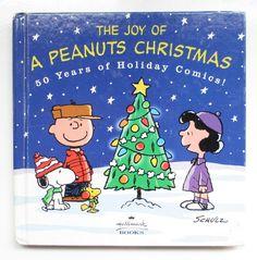 The Joy of Christmas A Peanuts Christmas, Peanuts Gang Hard Cover Book