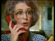 "Maureen Lipman in the 1987 British Telecom advert. ""He gets an ology and he says he's failed. you get an ology you're a scientist. 1970s Childhood, My Childhood Memories, 80s Ads, 1980s, Tv Adverts, Kids Tv, Teenage Years, Before Us, Tv Commercials"