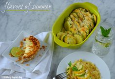 Fresh Summer Dinner Party Menu with CW by CorningWare™ #ad #CWColor