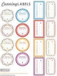 Risultati immagini per free printable labels food to store