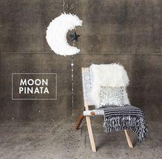 Moon Pinata DIY