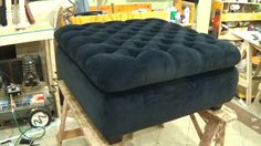 HOW TO UPHOLSTER A STORAGE OTTOMAN - ALO Upholstery