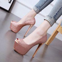 Shoespie Sexy Brilliant Ultra-High Heels