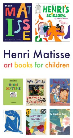 Henri Matisse art books for children :: famous artists art projects for children - Art History for Young Artists - Henri Matisse, Matisse Kunst, Matisse Drawing, Matisse Art, Art Books For Kids, Art Children, Children Dancing, Montessori Art, E Mc2