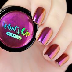 Use this ultra fine powder of purple, pink, and gold and to give your nails a fabulous multi chrome effect with ultimate shine and beauty. Weight: 1 gram