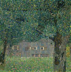 Casa de campo e la Alta Austria Klimt 1911-1912/// klimpt?