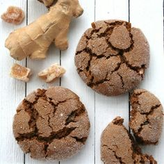 Barefoot Contessa Ginger cookies- make these cookies to go with the pumpkin mousse parfaits. Yummy!! :)
