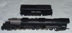 HO Rivarossi 1586 UP Union Pacific Big Boy 4-8-8-4 Steam Locomotive Train #4006 #Rivarossi Train Sets For Sale, Steam Locomotive, Big Boys, Trains