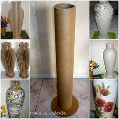 Creative Projects For Book Lovers DIY bookcase storage Diy Cardboard Furniture, Cardboard Box Crafts, Paper Mache Crafts, Newspaper Crafts, Diy Bottle, Bottle Art, Bottle Crafts, Vase Crafts, Mason Jar Crafts