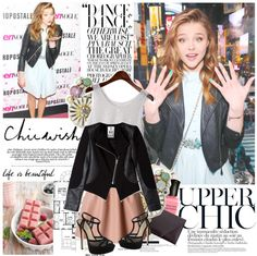 """""""Chloe Moretz"""" by mars ❤ liked on Polyvore"""