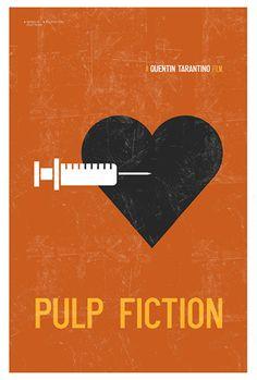 Pulp Fiction minimalista Limited Edition Art di CreativeSpectator