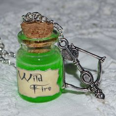 Handmade Game of Thrones Inspired Wildfire by KitschKatKeepsakes, £6.00