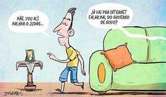 FALAR MAL DO GOVERNO...