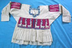 Mixtec blouse with deer oaxaca