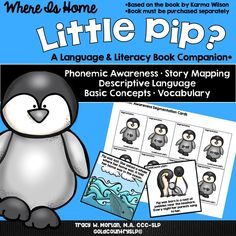 Perfect winter book companion! Language/literacy based. IEP goals and CCSS citations included!