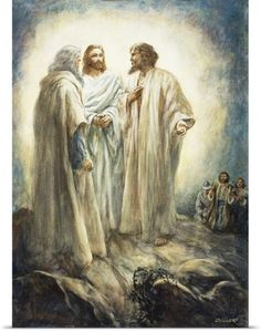Henry Coller Poster Print Wall Art Print entitled Jesus, None