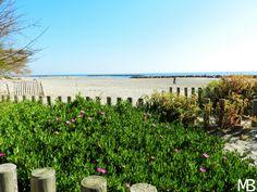 Vista sulla spiaggia Palavas-les-Flots