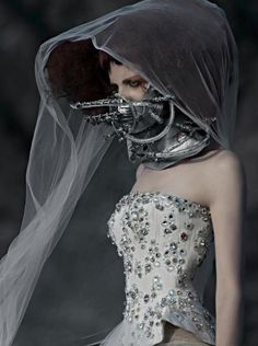 is0lation (avant-garde,fashion,face obscured,mask,fashion-forward,directional,runway,catwalk)