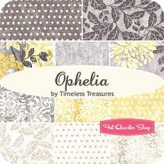 Ophelia Fat Quarter Bundle Timeless Treasures Fabrics - Fat Quarter Shop