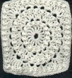 Granny Square: Circle of Friends (looks best w/ different colors for each round)