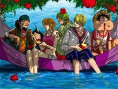 One Piece, Straw Hat Pirates