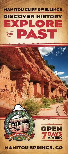 The Manitou Cliff Dwellings is a rare historical treasure. Preserved under a protective red sandstone overhang, authentic Anasazi cliff dwellings, built more than 700 years ago, await you here.