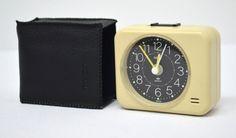 Vintage COPAL Alarm Clock - Quartz - Made in Japan - Tested Works Great
