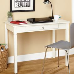 Andover Mills Reynoldsville Writing Desk & Reviews | Wayfair