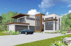 Plan 81647AB: Modern Living With Light-Filled Foyer
