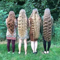 Really Long Hair, Super Long Hair, Down Hairstyles, Braided Hairstyles, Hair Addiction, Long Wavy Hair, Silky Hair, Beautiful Long Hair, Shoulder Length Hair