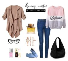 """""""Spring outfit"""" by unavaligiaper on Polyvore featuring moda, Ally Fashion, Christian Dior, Yves Saint Laurent, Anne Klein, Burberry, women's clothing, women, female e woman"""