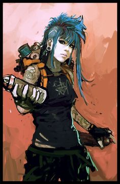 64 Badass Cyberpunk Girl Konzeptkunst & weibliche Charakterdesigns What's Illustration? Most readily useful Illustration Types High Fantasy, Fantasy Anime, Cyberpunk Kunst, Cyberpunk Girl, Cyberpunk Rpg, Cyberpunk Fashion, Cyberpunk Tattoo, Steampunk Fashion, Gothic Fashion