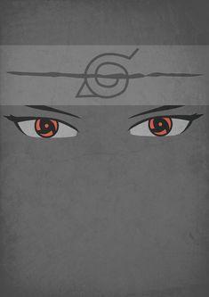 Itachi Uchiha Mangekyou Sharingan minimalistic by xFaena on DeviantArt Itachi Uchiha Wallpapers, Wallpapers Naruto, Naruto Wallpaper, Animes Wallpapers, Iphone Wallpaper, Sasuke Sharingan, Naruto Shippuden Sasuke, Gaara, Boruto