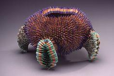 Jennifer utilise de simples crayons pour cr�er d�impressionnantes sculptures inspir�es par la nature