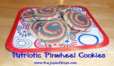 Patriotic pinwheel c
