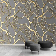 Custom Photo Wallpaper For Walls Stereoscopic Golden Tree Leaves Living Room TV Background Wall Mural Creative Wall Paper - AliExpress Wallpaper Wall, Custom Wallpaper, Photo Wallpaper, Wallpaper For Living Room, Luxury Wallpaper, Leaves Wallpaper, Wallpaper Designs For Walls, 3d Wallpaper Mural, Wallpaper Stickers