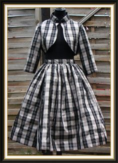1950's style bolero jacket and skirt ensemble by Swellrenditions