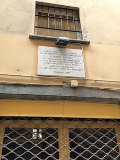 (qui dimorò) Giacomo Puccini - Via S. Agostino, Torino