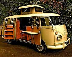The Flying Tortoise: Classic Campervans From Wayback When... #vw