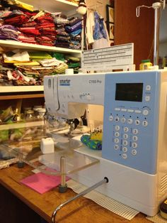 One of my sewing machines