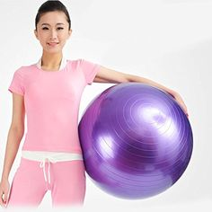 New 85CM Balance Stability Ball for Yoga Fitness and Exercise Ball   Air Pump -- Be sure to check out this awesome product.