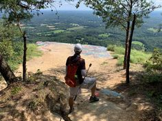Hiked 6 miles to Currahee Mountain today with Gary (aka Drone Boy). Great views minus the graffiti. Used in the 1940's by WWII paratroopers to train for D-Day.