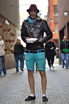 Well, this certainly explains a lot of the questions I've had since I began dating a South African.... South African Street Style Johannesburg (
